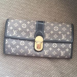 LV mini lin wallet